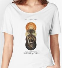 Knight Of Cups Poster Women's Relaxed Fit T-Shirt