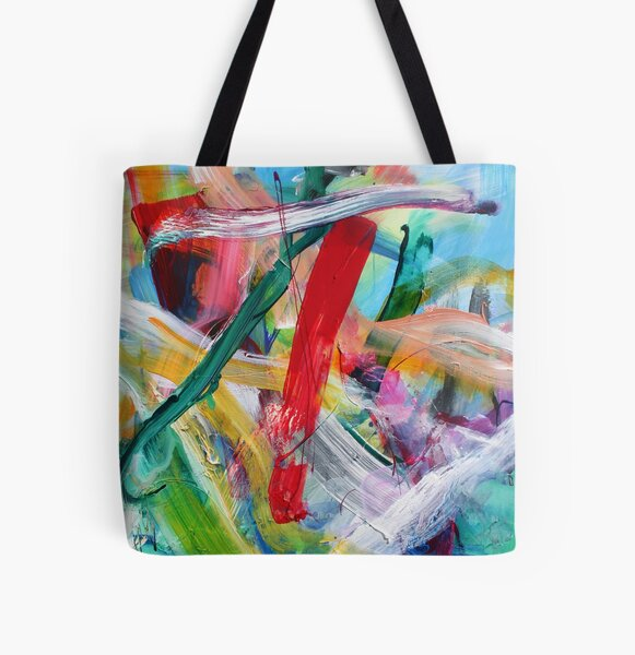 Jan van Oort: Pure Happiness  All Over Print Tote Bag