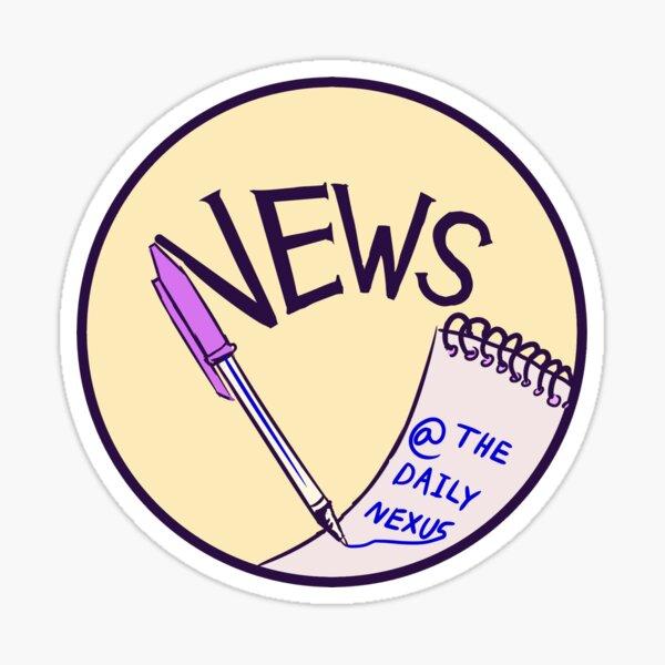 daily nexus news logo Sticker