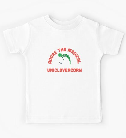 Adore the Magical Uniclovercorn Kids Clothes