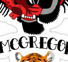 conor mcgregor tattoo stickers redbubble