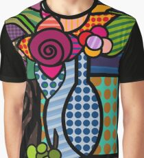 vase of flowers Graphic T-Shirt