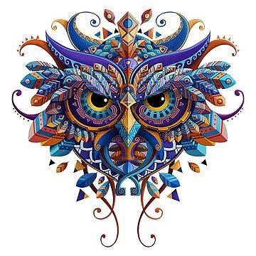 OWL  BUHO by nachaompunx