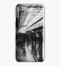 London Paddington - Black and White iPhone Case/Skin