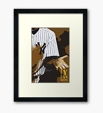 Yankees baseball team Framed Print