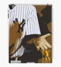 Yankees baseball team iPad Case/Skin