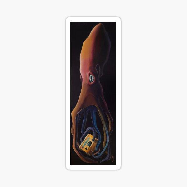 Media Octopus (Black Ink Edition) Sticker
