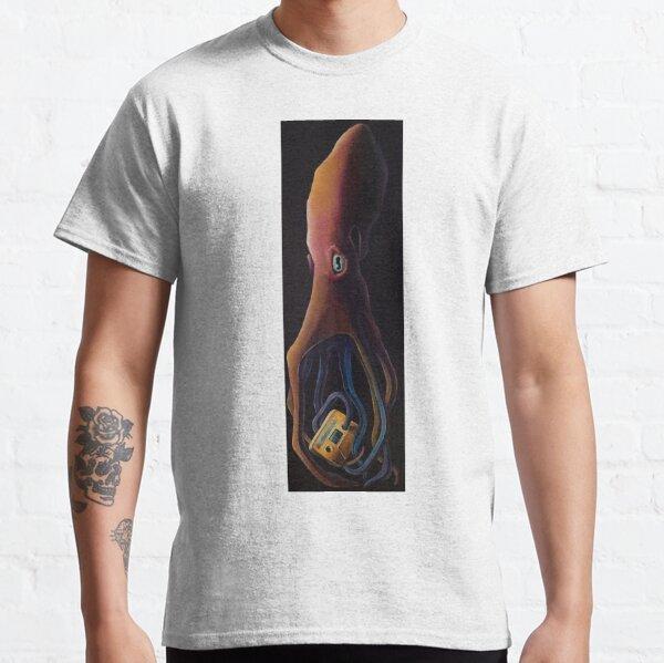 Media Octopus (Black Ink Edition) Classic T-Shirt
