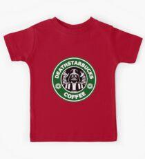 Deathstarbucks Coffee Kids Tee