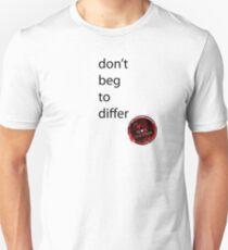 andlovewonanother differ Unisex T-Shirt