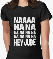 The Beatles Hey Jude Womens Fitted T-Shirt