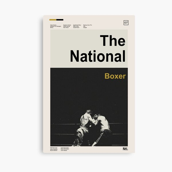 The Boxer - The National Canvas Print