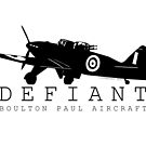 Boulton Paul Defiant by Chris Jackson