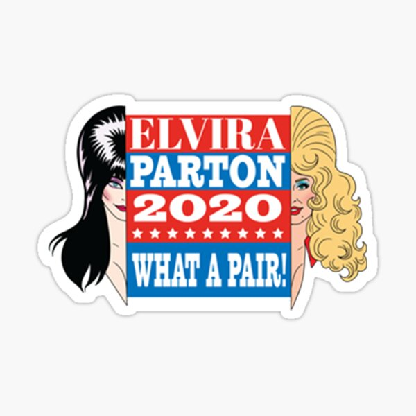 Dolly Parton  2020 What a Pair Sticker