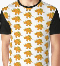 Funny dinosaur (triceratops) Graphic T-Shirt