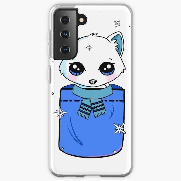 Snowy Arctic Fox in a Pocket Samsung Galaxy Soft Case