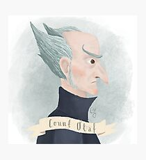 Count Olaf Photographic Print