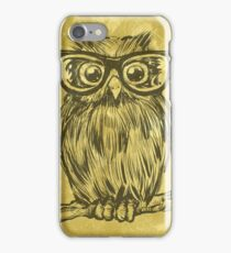 Spectacle Owl iPhone Case/Skin
