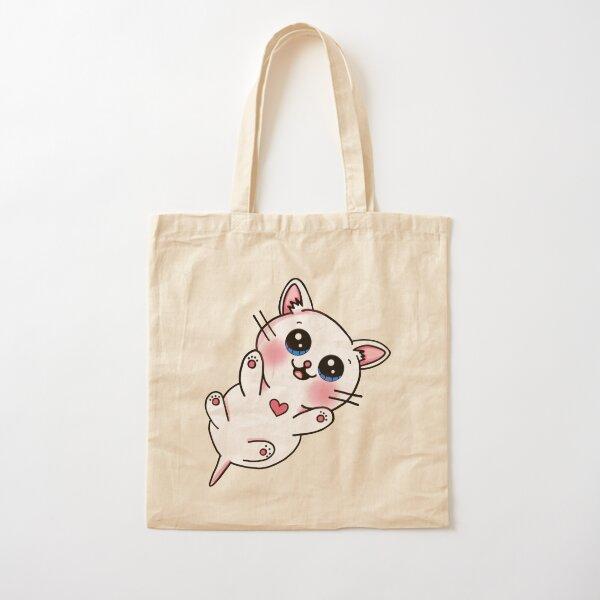 Cute Kitten Cotton Tote Bag