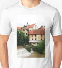 Skofja Loka River Front 1 T-Shirt