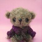 Handmade bears from Teddy Bear Orphans - Benji by Penny Bonser