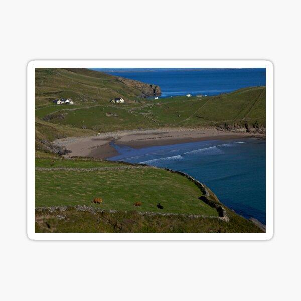 Traloar Beach, Muckross Head, Donegal Sticker