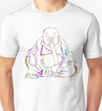 Buddha Smoking Bong Unisex T-Shirt
