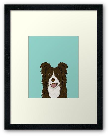 Simple Chocolate Brown Adorable Dog - fp,550x550,black,off_white,box20,s,ffffff  Graphic_19377  .jpg