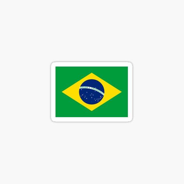 Brazil - Small Flag Sticker