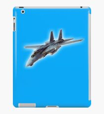 Tomcat, Jet, American, Grumman, F-14, supersonic, twin-engine, two-seat, variable-sweep wing, fighter aircraft.  iPad Case/Skin