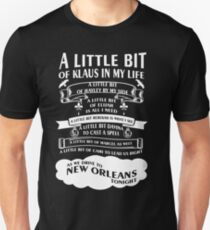 The Originals Song. Klaus. Rebekah.Elijah Unisex T-Shirt