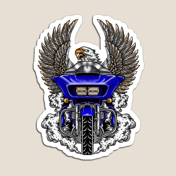 Exclusive Design Road Glide Blue Edition Magnet