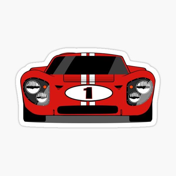 1967 Champion #1 Sticker