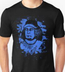Oswald von Wolkenstein - blue bleached Unisex T-Shirt