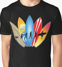 Surfer Evolution Graphic T-Shirt