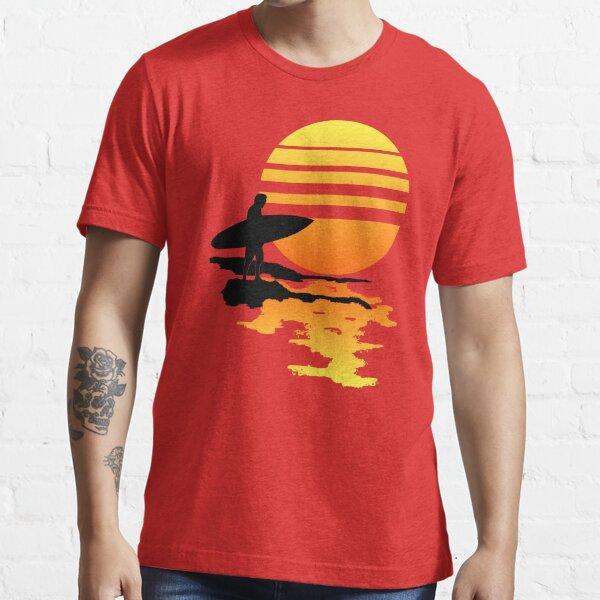 Surfing Sunrise Essential T-Shirt