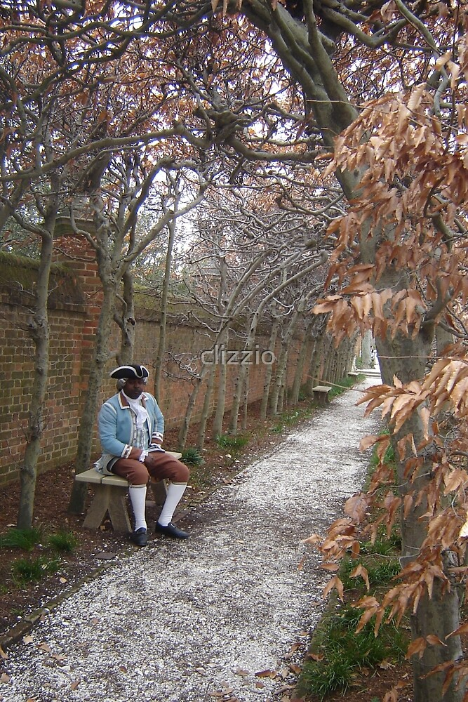 Colonial Williamsburg Governor's Mansion Garden by clizzio
