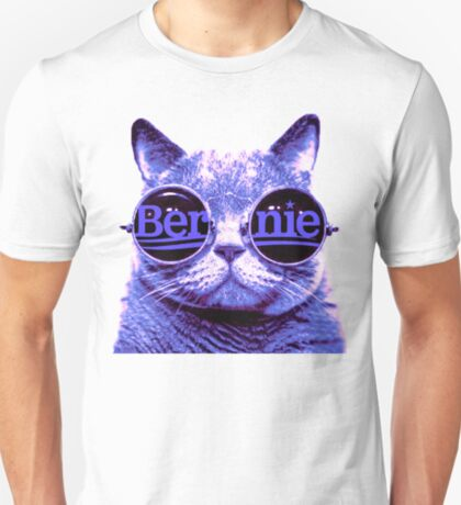 Solo Purple Cat 4 Bernie T-Shirt