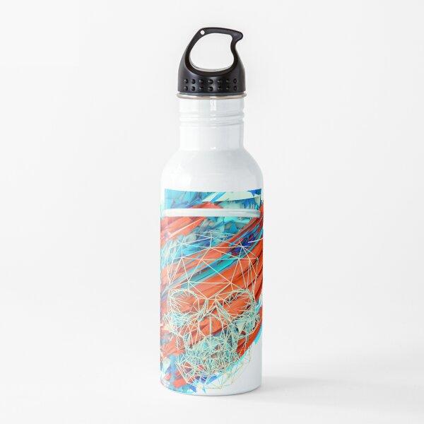 Polygon Halo Skull Water Bottle