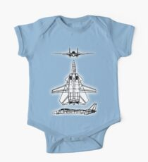 JET, FIGHTER, Aircraft, America, American, Grumman, F-14, Tomcat, DRAWING, supersonic, twin-engine, two-seat, variable-sweep wing,  One Piece - Short Sleeve