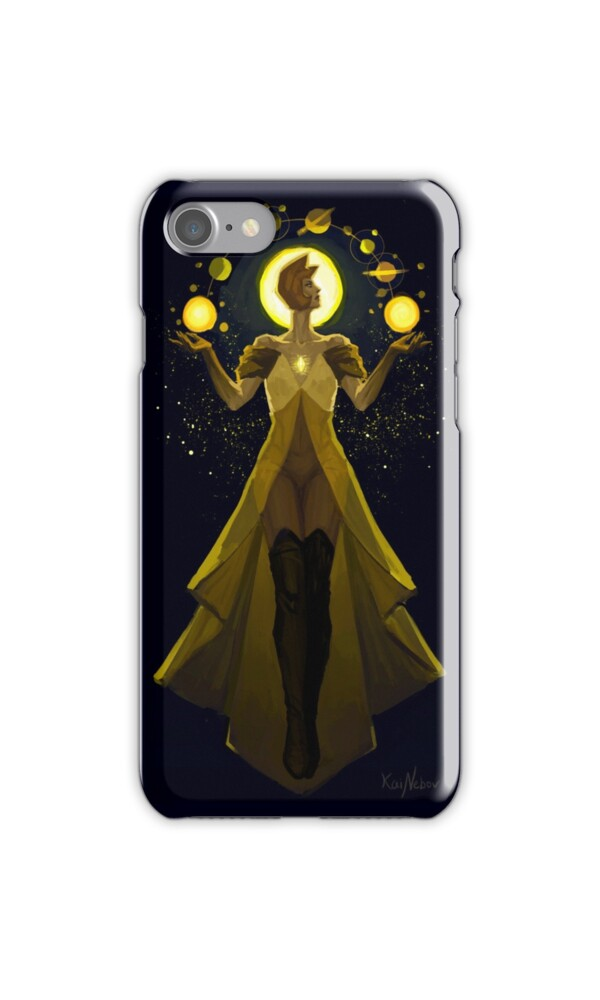 Yellow diamond mural iphone cases skins by kainebov for Yellow diamond mural