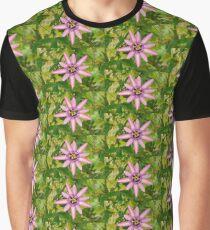 Lavender Lady Passiflora  Graphic T-Shirt