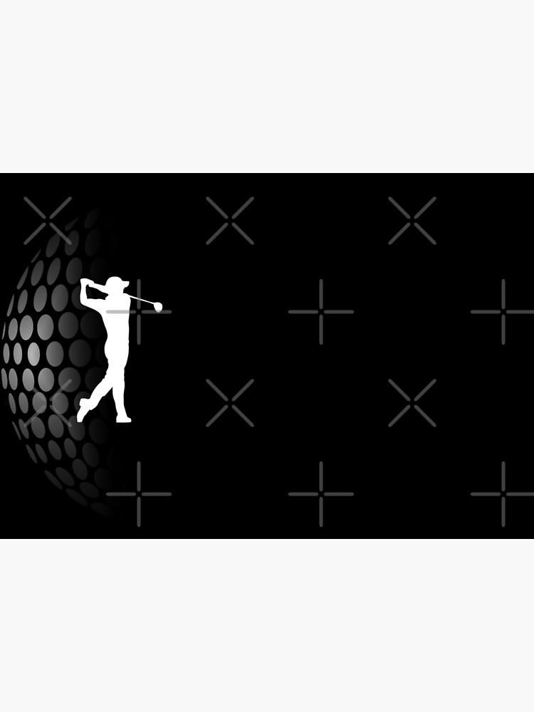 Golf | Golfer Tee Shot | Golfing by Pentimore
