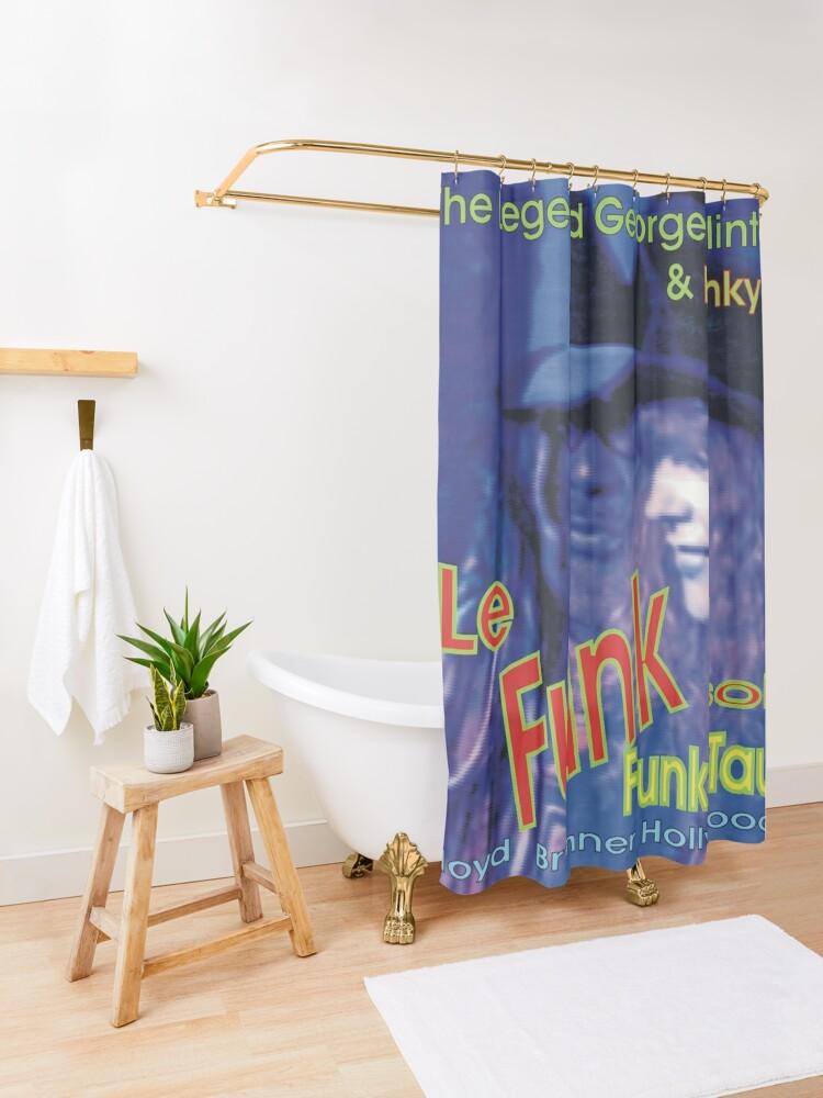 Alternative Ansicht von Le Funk  Funky Taurus Duschvorhang
