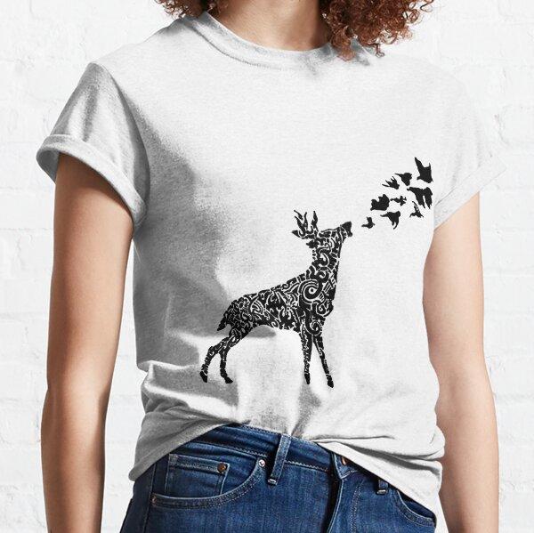 Deer & Birds Classic T-Shirt