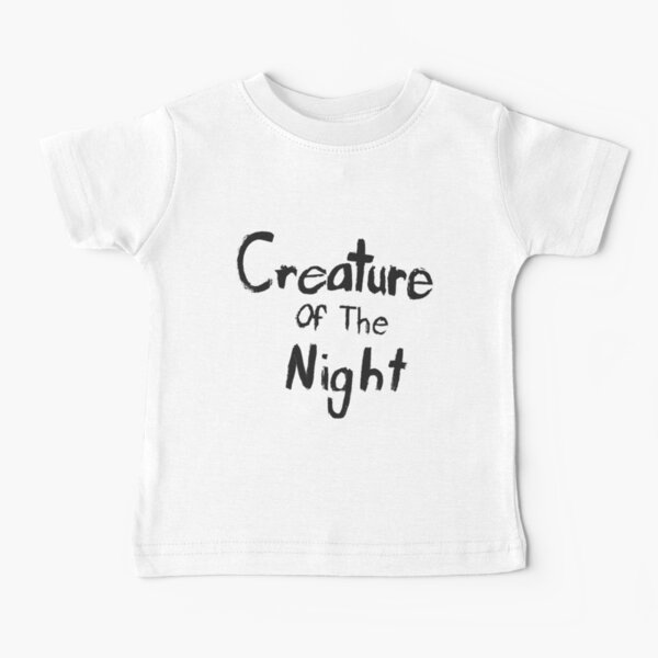 Creature of The Night Baby T-Shirt