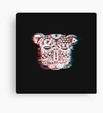 Spirit Bear 3D Canvas Print