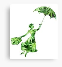 Weed Mary Poppins Metal Print