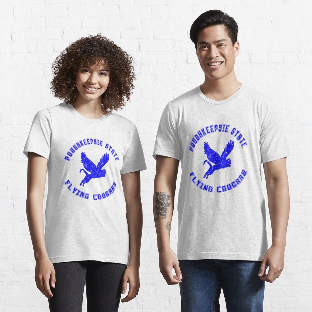 POUGHKEEPSIE STATE FLYING COUGARS Essential T-Shirt