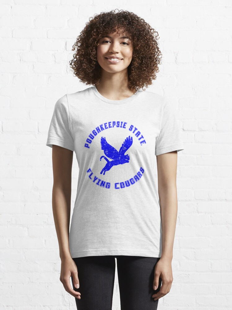 Alternate view of POUGHKEEPSIE STATE FLYING COUGARS Essential T-Shirt